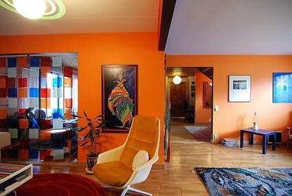 Colores naranja para tu hogar  DecoActualcom