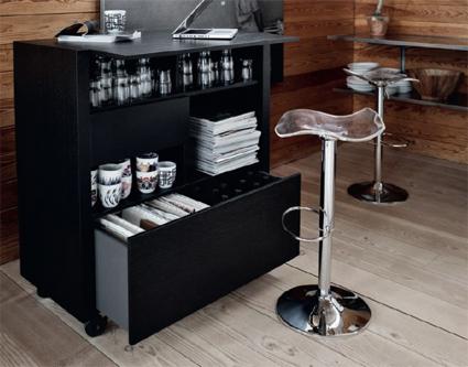 Un mueble bar muy prctico  DecoActualcom