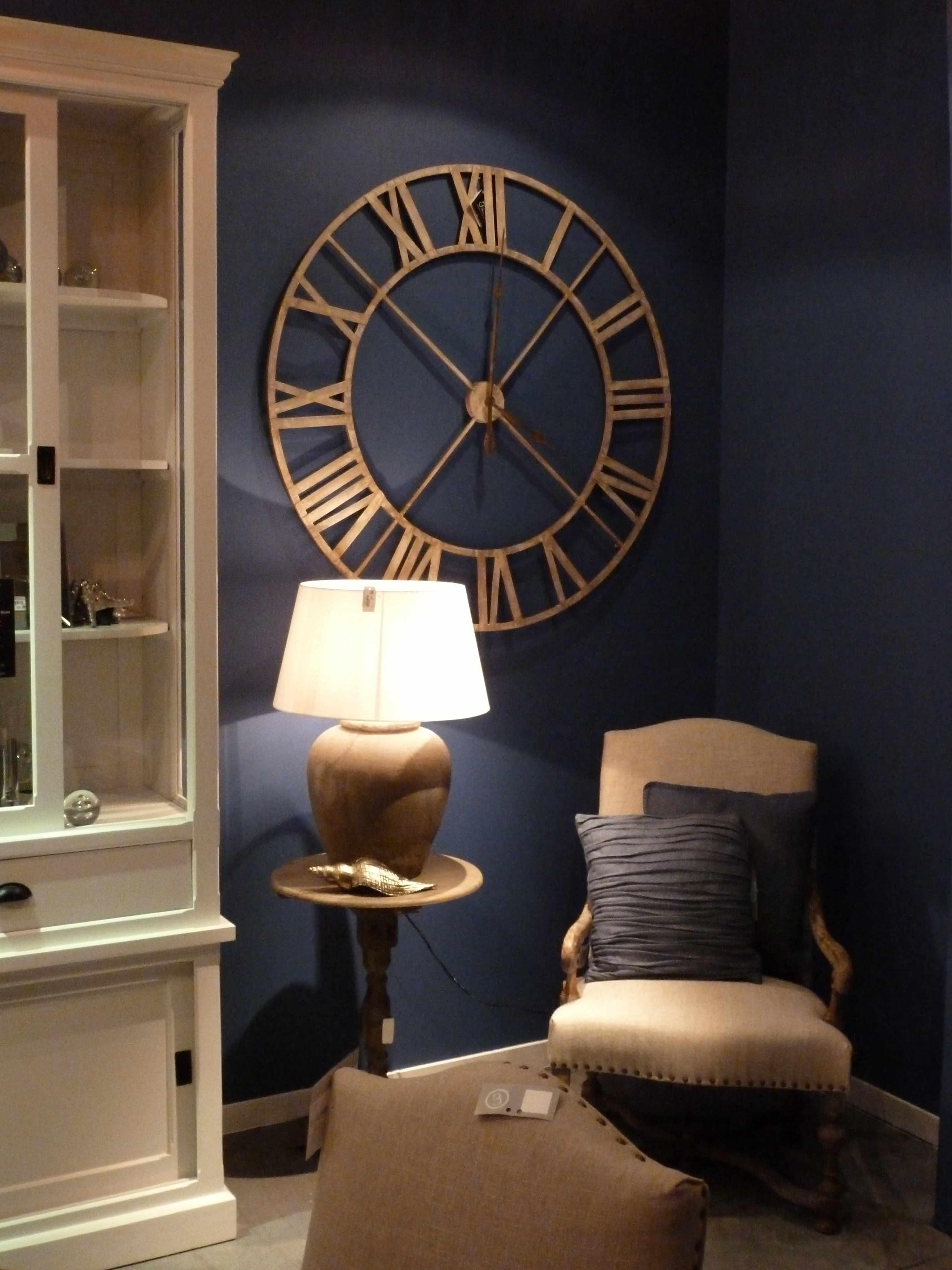 Deco Salon Bleu Roi le grand retour du bleu