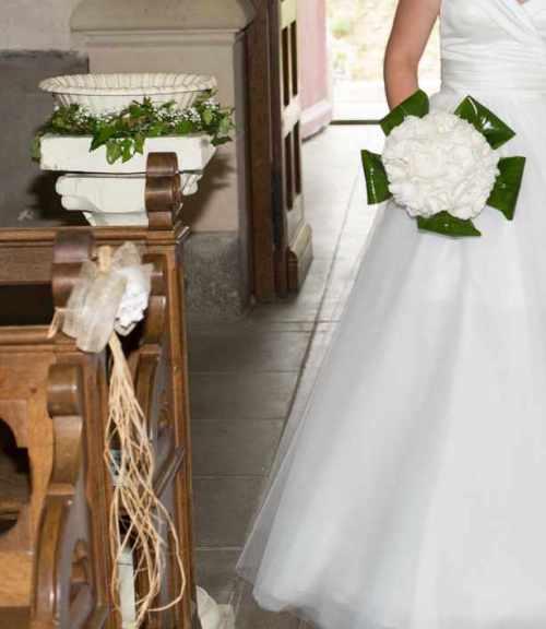 deco florale eglise mariage