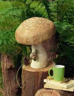 lampe-champignon-papier Marie-Claire-idees