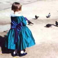 LA demoiselle-dhonneur-aux-pigeons