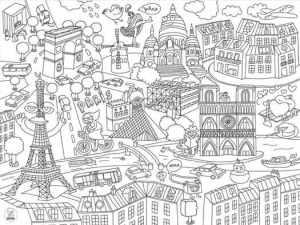 bloc-24-sets-table-a-colorier-citymap-Omy L-arbre-aux-souhaits