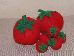 tomates feutrine Tutti Froutty