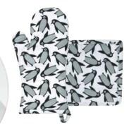 gant-cuisine-manique collection Pingouin Monoprix decembre 2014