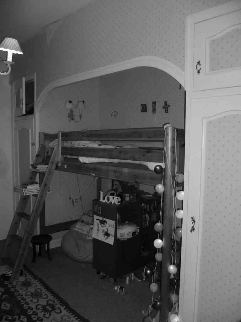 Chambre avant travaux