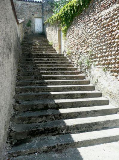 Moras-en-Valloire escalier 2011