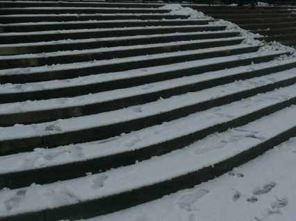 Neige aux Tuileries 2010
