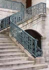 St-Jean-de-Luz escalier eglise St-Jean-Baptiste 2013