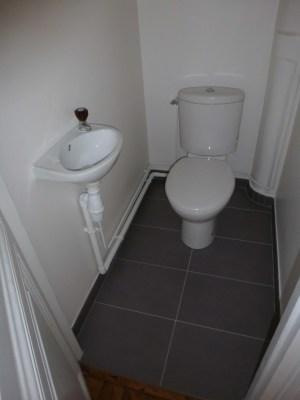 WC blanc sol ardoise Boulogne