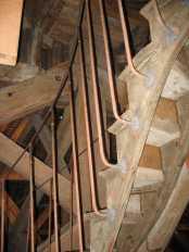 petit escalier Vaux-le-Vicomte 2009