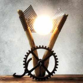 lampe recup-eclaire velo