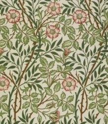 papier peint églantine William Morris 1887