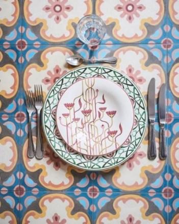Mosaert_home_vaisselle_Art_nouveau