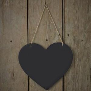 AF  Chalkboard Heart Sign scaled