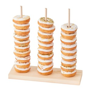 GO  Wooden Donut Stacker Cut Out scaled