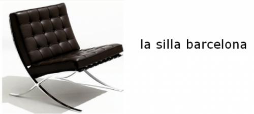 Clsicos del diseo La silla Barcelona  Decocasa