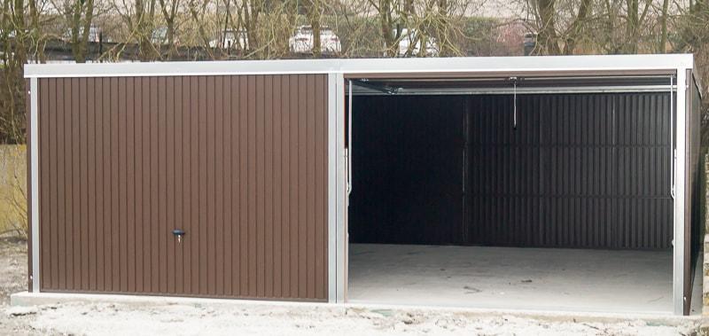 garage boxe voiture metallique tole
