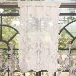 brise bise claque 45 x 70 cm en lin par blanc mariclo ideal pour une deco shabby chic et romantique