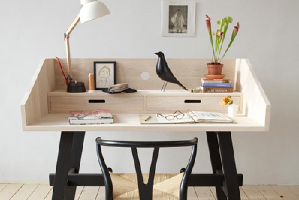 10 bureaux design et gain de place decocrush for Bureau gain de place design