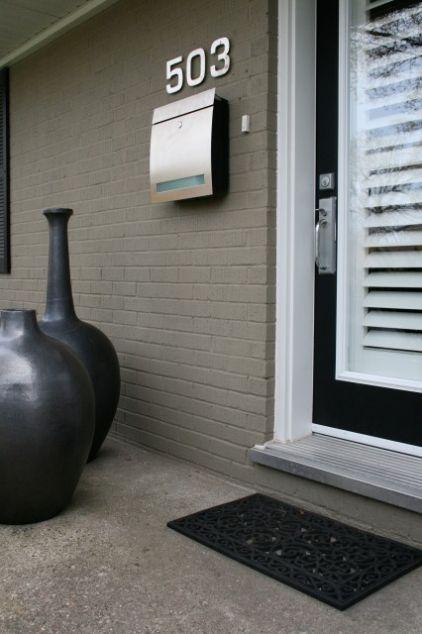 Une belle maison moderne en noir et blanc - Decocrush | Décorez avec ...