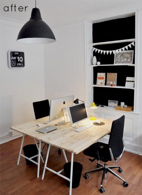comment amm nager un coin bureau pour deux decocrush. Black Bedroom Furniture Sets. Home Design Ideas
