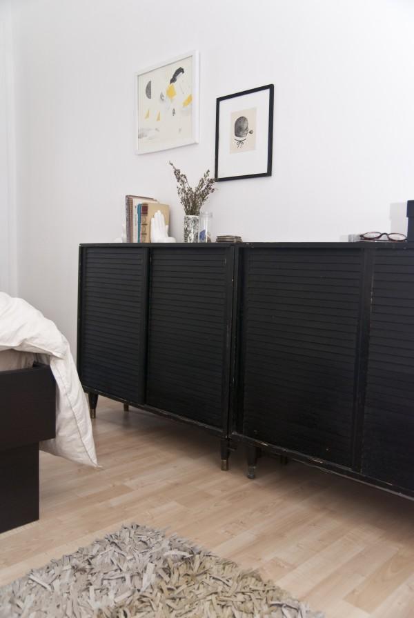 Une chambre r tro douce et apaisante decocrush for Disposition des meubles dans une chambre