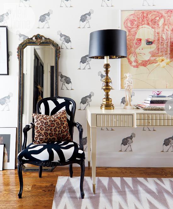 Un appartement glamour chic et ultra f minin decocrush for Deco appartement feminin