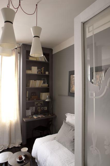 Chez Juliette, 18m2 de charme à Paris sur @decocrush - www.decocrush.fr