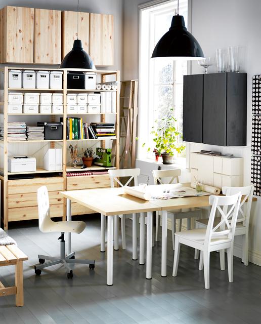 12 id es d co insolites pour un petit bureau chez soi. Black Bedroom Furniture Sets. Home Design Ideas