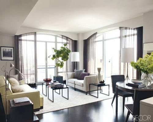Chez...Hilary Swank, déco chic à Manhattan | www.decocrush.fr