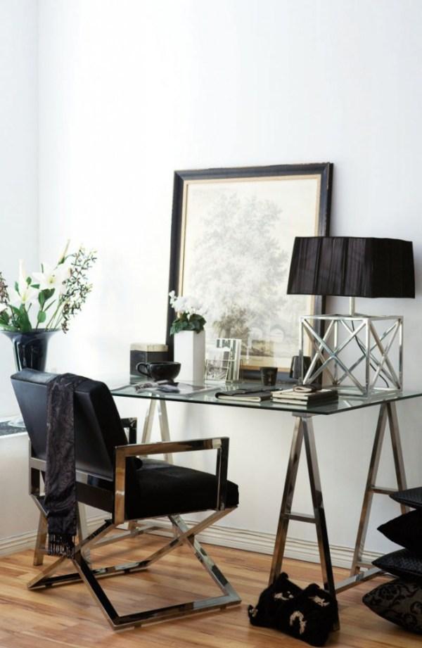 8 idées déco pour une touche glamour dans le bureau - Decocrush ...