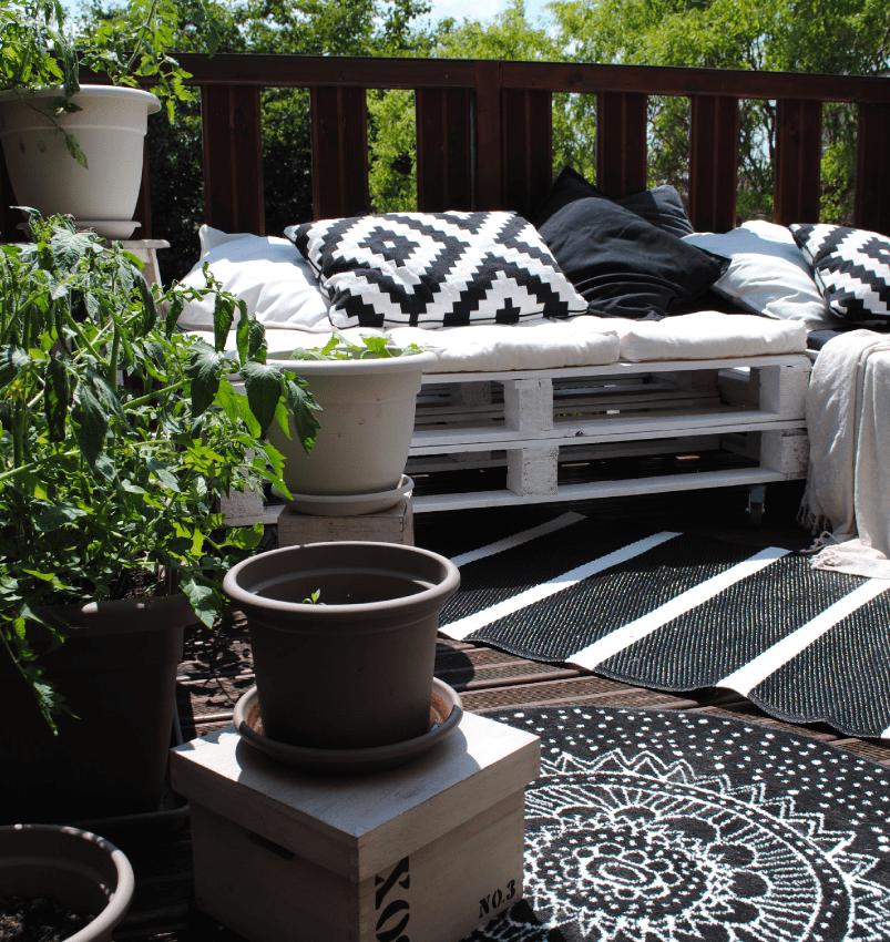 Décoration extérieure : Bienvenue sur ma petite terrasse d'été !