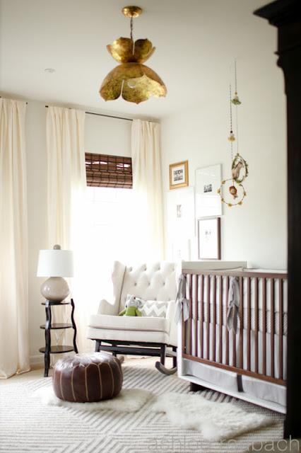 Visite déco : Une jolie chambre de bébé très chic ! | www.decocrush.fr