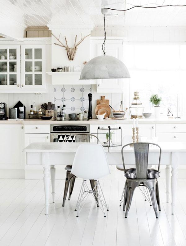 Latest get the look ides dco pour une jolie cuisine for Deco cuisine zinc