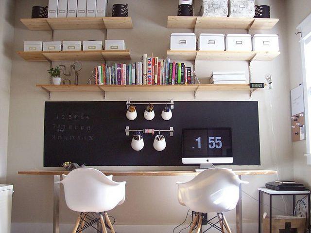 5 astuces d co pour un bureau fonctionnel petits prix for Decoration maison a petit prix