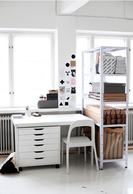 5 astuces d co pour un bureau fonctionnel petits prix for Astuce decoration