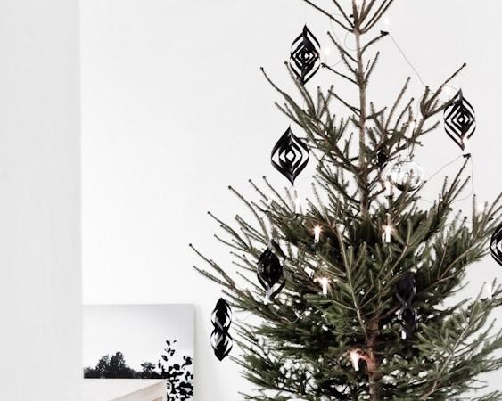 DIY : Déco de Noël faciles et rapides en feutrine ou papier