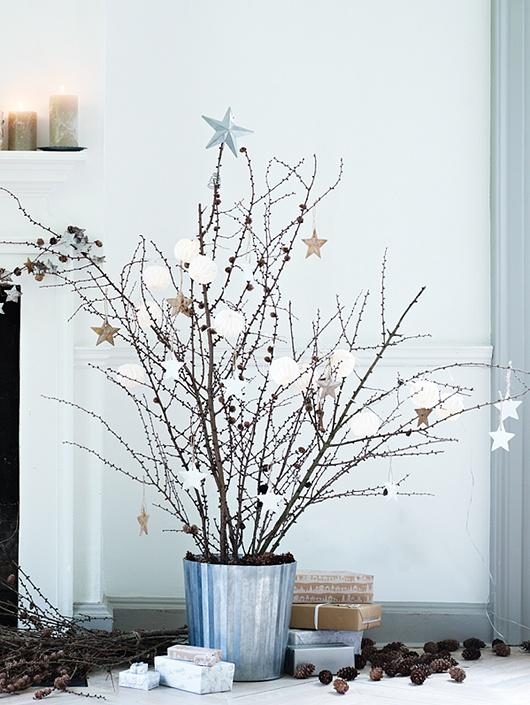 Inspiration pour une déco de Noël...très Nature !