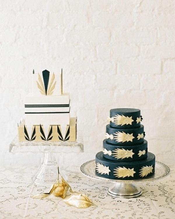 Gatsby : Une décoration de mariage inspirée des années folles