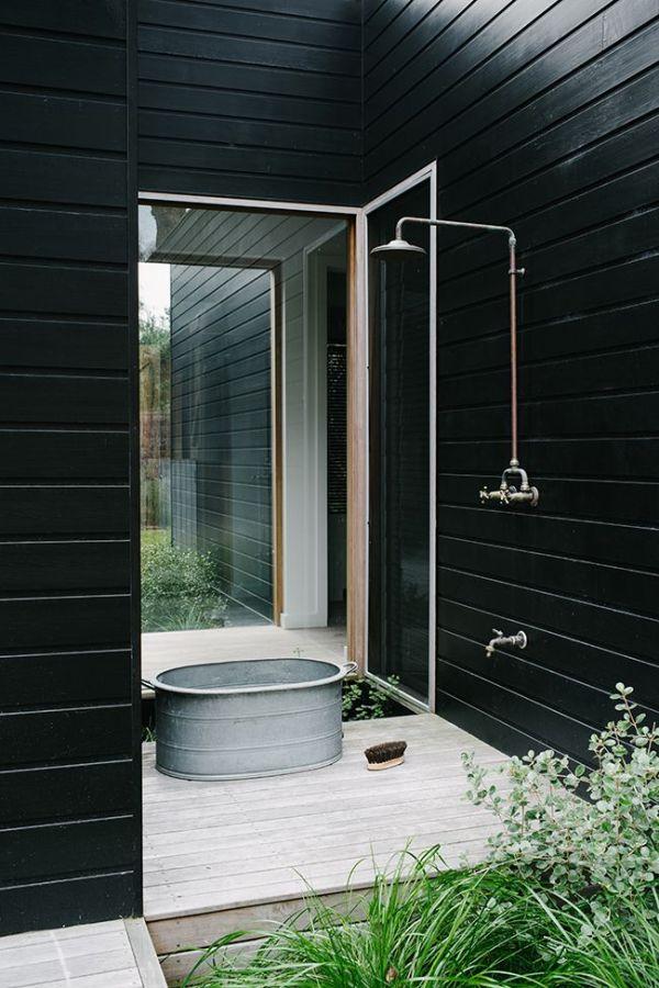 Westin Terrasse Scandinave : 30 id u00e9es d u00e9co pour une terrasse scandinave en noir et