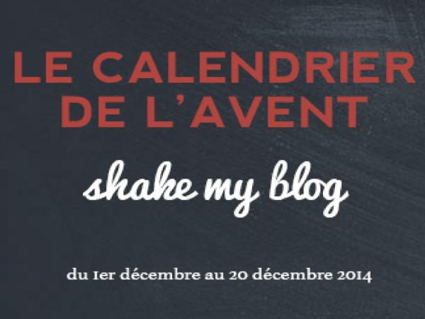 Concours : Le Calendrier de l'avent de Shake My Blog