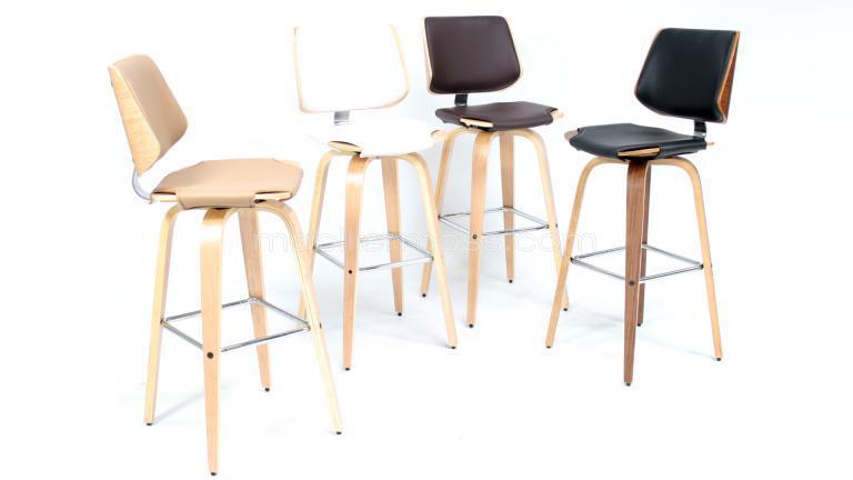 Tabouret de bar pour cuisine chaise haute cuisine rouge for Table haute avec tabouret pour cuisine