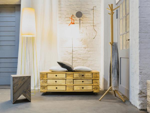 DIY : Une commode écofriendly en palettes en bois recyclées