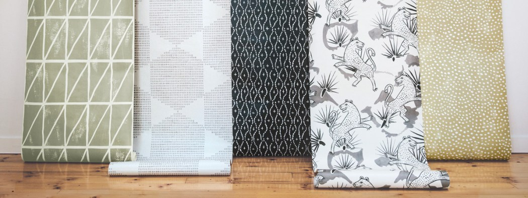 Crush ! These Walls : Papier peint graphiques et chic made in Queensland | www.decocrush.fr