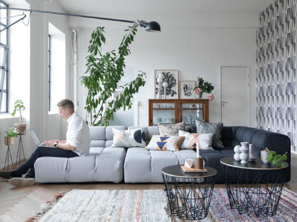 Visite déco   Le loft coloré de Trine Andersen, créatrice de Ferm Living