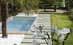 Une mini piscine dans son petit jardin pour cet hiver ?! Carrément !