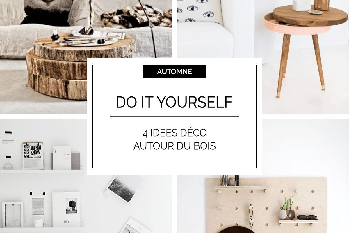diy 4 tutos d co d 39 automne autour du bois decocrush. Black Bedroom Furniture Sets. Home Design Ideas
