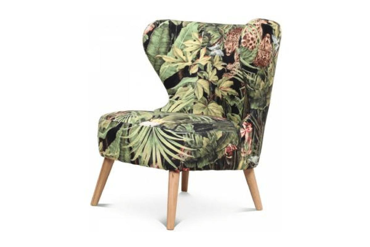 Où dénicher un fauteuil tropical au look rétro ?