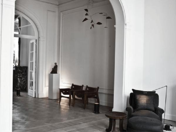 Une maison minimaliste très chic en Belgique